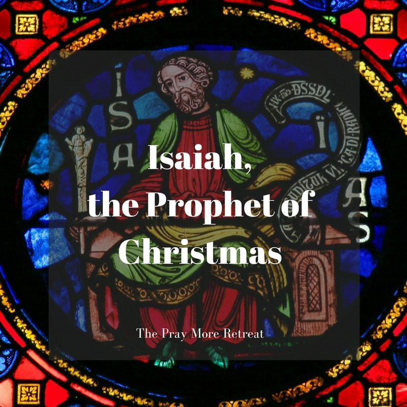 """the calling of the prophet isaiah Matthew 3:3 this is he who was spoken of through the prophet isaiah: """"a voice of one calling in the wilderness, 'prepare the way for the lord, make straight paths for him'""""."""